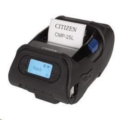 Citizen CMP-25L, USB, RS-232, BT, 8 dots/mm (203 dpi), display, ZPL, CPCL