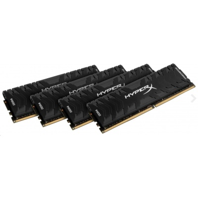 DIMM DDR4 32GB 3600MHz CL17 (Kit of 4) XMP KINGSTON HyperX Predator RGB
