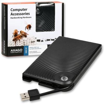 """AXAGON EE25-XP, USB2.0 - SATA,  2.5"""" externý WAVE box"""
