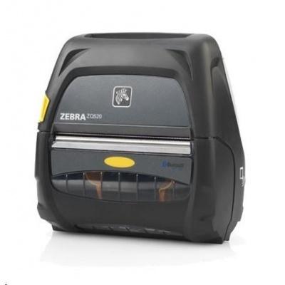 """Zebra ZQ520 4"""" Mobilní tiskárna, 8 dots/mm (203 dpi), display, ZPL, CPCL, USB, BT, Wi-Fi, NFC"""