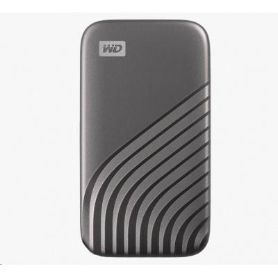 SanDisk WD My Passport SSD externí 500GB , USB-C 3.2 ,1050/1000MB/s R/W PC & Mac ,space gray