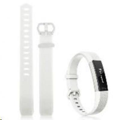 eses silikonový řemínek bílý ve velikosti S pro Fitbit Alta HR