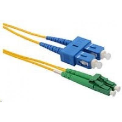 Solarix Patch kabel 9/125 LCapc/SCupc SM OS 3m duplex SXPC-LC/SC-APC/UPC-OS-3M-D
