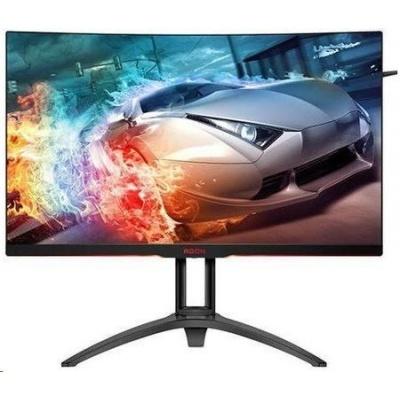 """AOC MT VA LCD WLED 31,5"""" AG322QC4 - VA, 2560x1440, D-Sub, 2xHDMI, 2xUSB, 2xDP, USB hub, repro, vysk stav, zakriveny"""