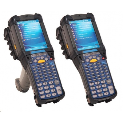 Motorola/Zebra terminál MC9200 GUN, WLAN, 1D, 1GB/2GB, 5250, Windows CE7, IST
