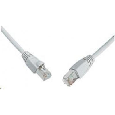 Solarix Patch kabel CAT6 SFTP PVC 2m šedý snag-proof C6-315GY-2MB