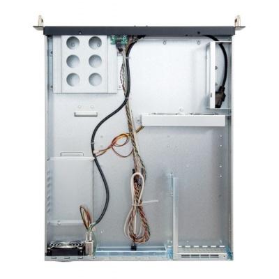 CHIEFTEC skříň Rackmount 2U ATX, UNC-210TR-B-U3-OP, without Riser Card, Black, bez zdroje