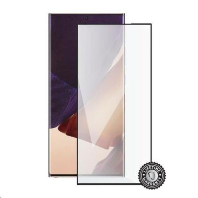 Screenshield ochrana displeje Tempered Glass pro SAMSUNG Galaxy Note 20 Ultra 5G (N986), (full cover), černá