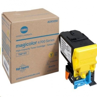 Minolta Toner TNP-18Y toner žlutý (6k) do MC4750