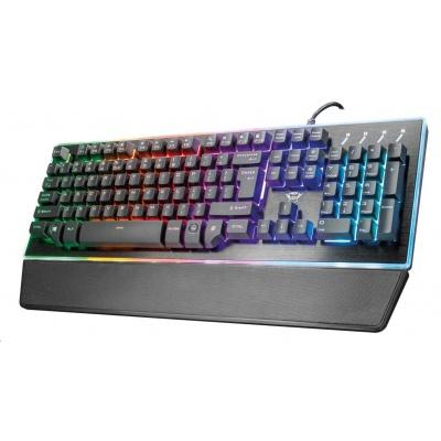 TRUST klávesnice GXT 860 Thura Semi-mechanical Keyboard EN