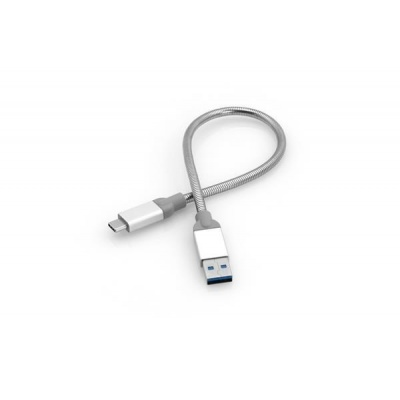 VERBATIM kabel USB-C to USB-A Sync & Charge Cable USB 3.1 GEN 2 30cm (Silver)