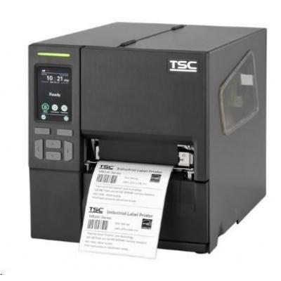 TSC MB340T, 12 dots/mm (300 dpi), disp., RTC, EPL, ZPL, ZPLII, DPL, USB, RS232, Ethernet