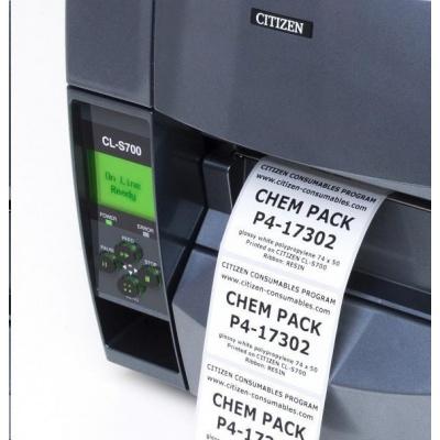 Citizen CHEM PACK, labels, colour ribbon, resin, 74x50mm