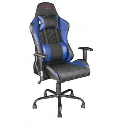 TRUST herní křeslo GXT 707R Resto Gaming Chair - blue