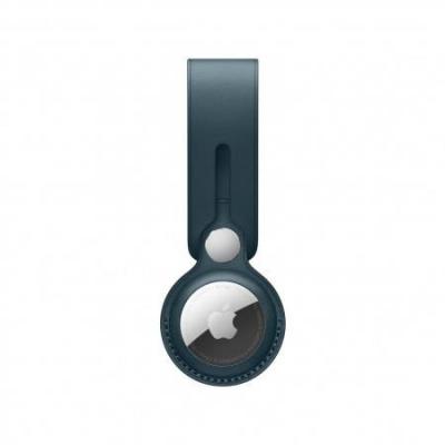 APPLE AirTag Leather Loop - Baltic Blue
