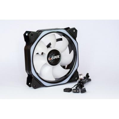 1stCOOL Fan AURA EVO Hexagon 2 ARGB ventilátor 12cm
