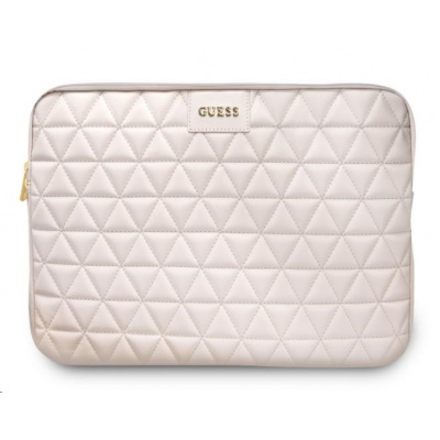 """Guess Quilted Obal pro Notebook 13"""" Pink"""