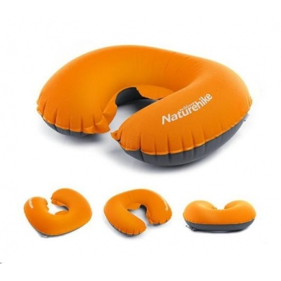 Naturehike ultralight TPU polštářek kolem krku 52g - oranžový