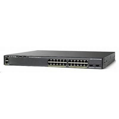 Cisco Catalyst 2960XR-24PD-I, 24x10/100/1000, 2xSFP+, PoE