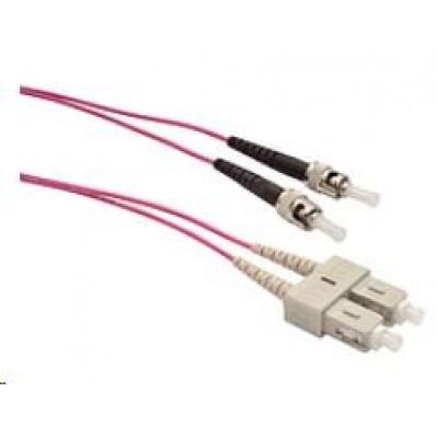 Solarix Patch kabel 50/125 SCupc/STupc MM OM4 2m duplex SXPC-SC/ST-UPC-OM4-2M-D