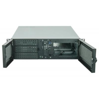 CHIEFTEC skříň Rackmount 3U ATX/mATX, UNC-310A-B, zdroj PSF-400B (400W)