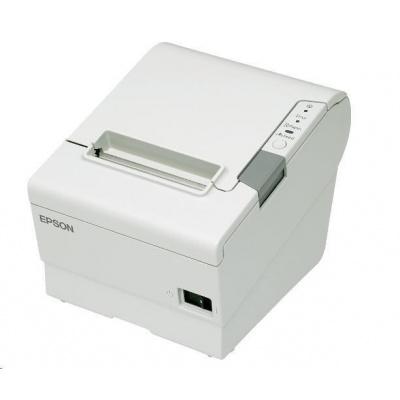 Epson TM-T88VI, USB, RS232, Ethernet, ePOS, white