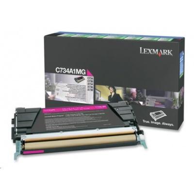 LEXMARK toner MAGENTA C734, C736, X734, X736, X738 na 6000 stran