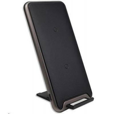 4smarts bezdrátová nabíječka VoltBeam Pro, 2 A, černá