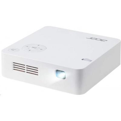 ACER Projektor C202i LED, 854x480,5000:1,300Lm,HDMI,Wi-Fi,životnost lampy - 20000 hod