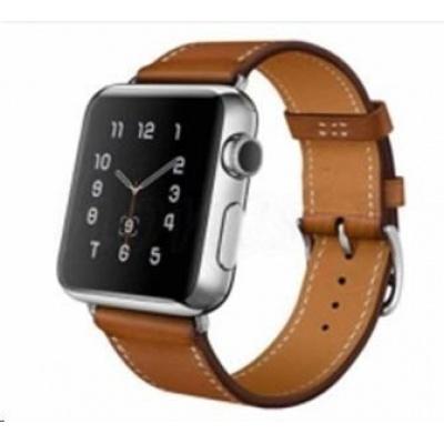 eses kožený řemínek 38mm hnědý pro apple watch