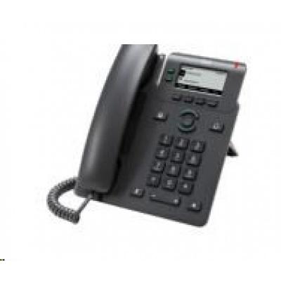 "Cisco CP-6821-3PCC-K9=, VoIP telefon, 2line, 2,5"" LCD, 2x10/100, PoE, MPP, bez adaptéru"