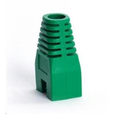 Ochrana pro konektor RJ45, non-snag-proof - zelená, 100ks