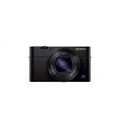 SONY DSC-RX100 III Cyber-Shot 20.2MPix, 2.9x zoom - černý + kožené pouzdro + grip