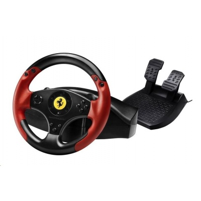 Thrustmaster Sada volantu a pedálů Ferrari Red Legend Edition pro PS3 a PC (4060052)