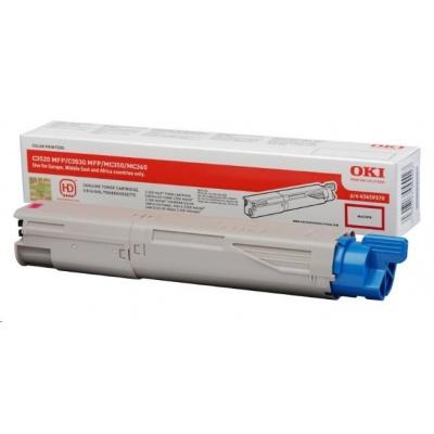 Oki Toner Magenta do C3520 MFP/C3530 MFP/MC350/MC360 (2.5k)