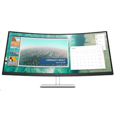 "HP LED LCD E344c 34"" Wide SVA (3440x1440, 4ms, 400nits, 3000:1,DP, HDMI, USB3.0,2xUSB-C)"