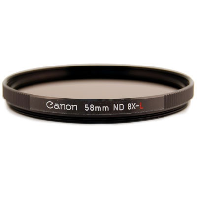 Canon filtr 58mm ND8-L Neutral density