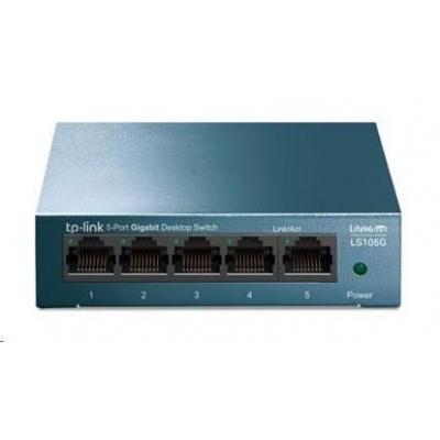 TP-Link LS105G [5-Portový stolní switch 10/100/1000Mb/s]