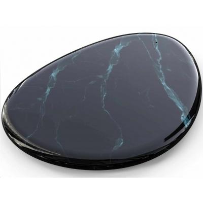Sandberg podložka Black Marble s bezdrátovým nabíjením Qi, USB-A, 10W