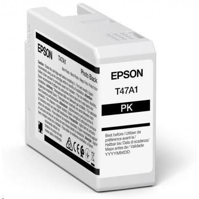 EPSON ink Singlepack Photo Black T47A1 UltraChrome Pro 10 ink 50ml