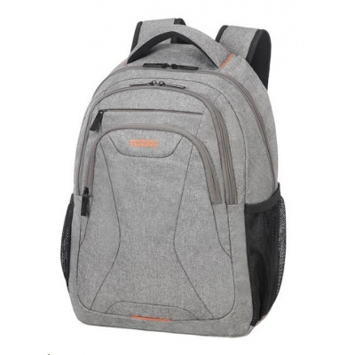 "Samsonite American Tourister AT WORK lapt. backpack 13,3"" - 14.1"" Grey/orange"