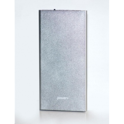 PowerPlus Slim 2USB  10000mah stříbrná barva
