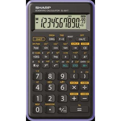 SHARP kalkulačka - EL-501T - zelená (balení blister)