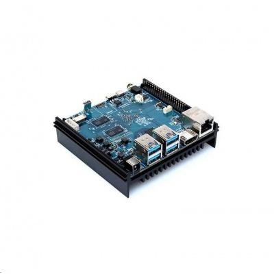 Odroid N2 jednodeskový počítač, 4GB RAM, pasivní chladič