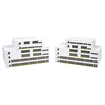 Cisco switch CBS250-24P-4X, 24xGbE RJ45, 4x10GbE SFP+, PoE+, 195W