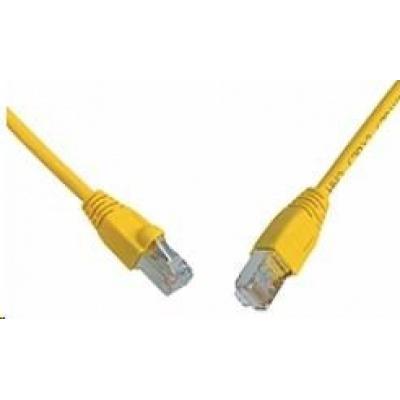 Solarix Patch kabel CAT6 SFTP PVC 3m žlutý snag-proof C6-315YE-3MB