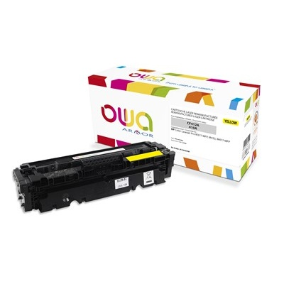 OWA Armor toner pre HP Color Laserjet pre M377, M452, M477, 2300 strán, CF412A, Yellow