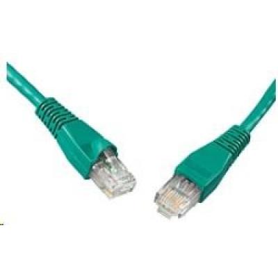 Solarix Patch kabel CAT6 UTP PVC 10m zelený snag-proof C6-114GR-10MB