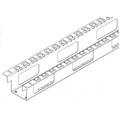 TRITON výztužná sada pro rozvaděče RTA 45U/800x1000, stabilizuje rozvaděč, umožňuje vertikální vyvázání kabeláže