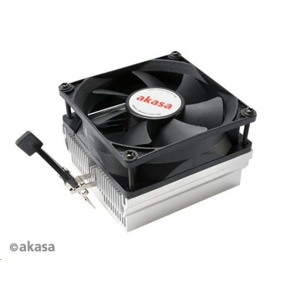 AKASA chladič CPU AK-CC1107EP01 pro AMD socket 754,939,940,  AM2, low noise, 80mm PWM ventilátor